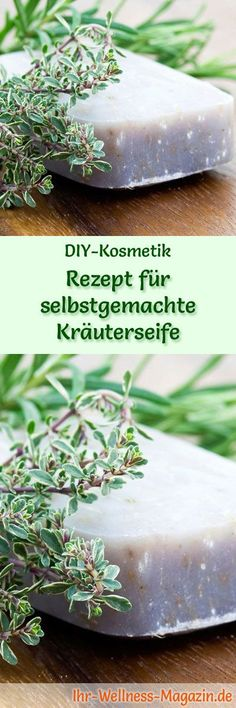 Recipe for homemade herbal soap soap recipe & instructions Pregnancy Humor, Recipe Instructions, Blue Makeup, Soap Recipes, Kraut, Soap Making, Artificial Flowers, Diy Beauty, Herbalism