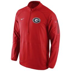 Georgia Bulldogs Nike Championship Drive Hybrid 1 4 Zip Dri-FIT Performance  Jacket - Red. Cowboys MenNfl ... f813d9e9f