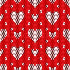 strikket hjerte - Google-søgning Knit Crochet, Stitch, Knitting, Sewing, Google, Full Stop, Dressmaking, Tricot, Breien