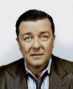 Ricky Gervais by Nadav Kander