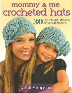 $8 + shipping   Mommy And Me Crocheted Hats