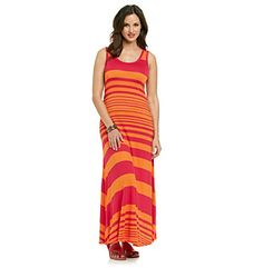 Product: Calvin Klein Variegated Striped Maxi