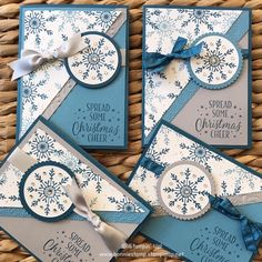 One card four ways by Bonnie O'Neill for Stampin Up