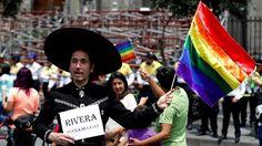 Manifestation pro-mariage homosexuel