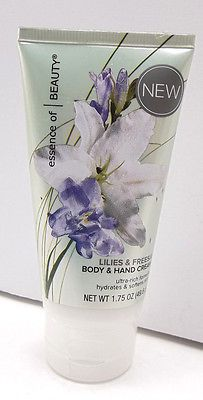 Lilies Freesia Body  Hand Cream Essence Beauty 1 Cent PENNY Holiday HUGE SALE Just Listed in ThenAndAgainTreasures Store on eBay with PENNY no reserve auction start bid  Free SH too!