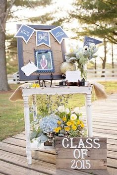 18 Creative Graduation Party Decoration Ideas for More Fun We have created a photo gallery featuring the most creative ideas for your bye-bye school or college party. Check out these graduation party decoration ideas! http://glaminati.com/graduation-party-decoration-ideas/