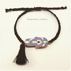 Evil eye bracelet Goodluck Charms, Evil Eye Bracelet, Hippie Chic, Hamsa, Bracelets, Accessories, Jewelry, Instagram, Style
