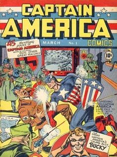 Analyze cartoons and TV WWII propaganda in the US in this lesson plan (Yes, that's Captain America punching Hitler)
