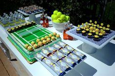 tennis-themed party