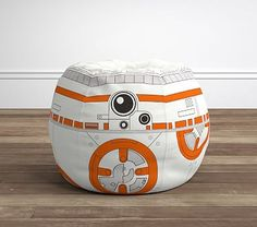 This comfy kid-sized seat is the perfect galactic addition to any room's decor. Created with snuggles and relaxation in mind, our beanbag features the iconic Star Wars ™ character, The playful slipcover zips off for easy Star Wars Bedroom, Leo Star, Kids Bean Bags, Designer Friends, Baby Furniture, Playroom Furniture, Kids Store, Reno, Pottery Barn Kids