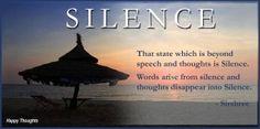 The Miracle Of Silence