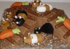 Creightons Cakes  Hamster Cake cakepins.com