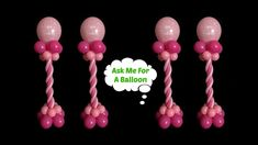 How to make a balloon centerpiece without helium or a stand! Join Tanya in this balloon decoration tutorial! Centerpieces are perfect for birthday parties, b. Balloon Wall Decorations, Balloon Crafts, Balloon Centerpieces, Balloon Columns, Balloon Arch, Balloon Ideas, How To Make Balloon, Balloon Pictures, Balloon Stands