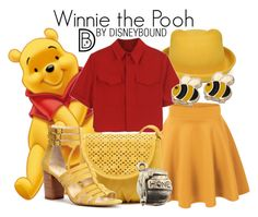 Disney Cosplay winnie the pooh Disney Bound Outfits Casual, Cute Disney Outfits, Disney Themed Outfits, Disney Dresses, Disney Clothes, Casual Outfits, Disney Cosplay, Disney Costumes, Disney Mode