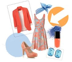 """""""Just Peachy"""" by croxz on Polyvore"""