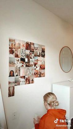 Dorm Picture Walls, Dorm Room Pictures, Bedroom Decor Pictures, Picture Wall Collage, Photo Walls, Photo Collages, Dorm Room Designs, Room Design Bedroom, Room Ideas Bedroom