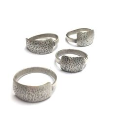 TEXTURED OVERLAY RING Mixed Metals, Metal Working, Napkin Rings, Overlays, Texture, Surface Finish, Metalworking, Overlay, Napkin Holders
