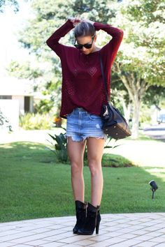Look – Sweater   Jeans