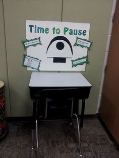 Mrs. Q's Music Blog: Time to Pause--worksheet to have students fill out when they have broken a rule