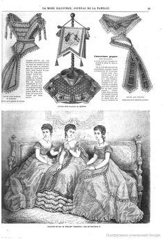 La Mode illustrée, journal de la famille - 1868