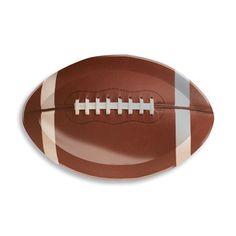 Football Shaped Plastic Tray, $3.95