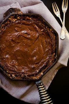 Sea salt and Chocolate Sugar Pie
