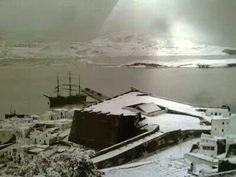 Nieve en 1907. Ibiza