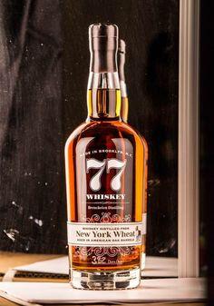 77 Whiskey — The Dieline - Branding & Packaging Design