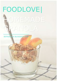 FOODLOVE | HOMEMADE GRANOLA CLICK FOR FULL RECIPE