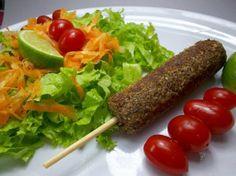 Kafta de carne de couve-flor e nozes | Receita