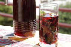 Agua de Jamaica (Hibiscus Punch)