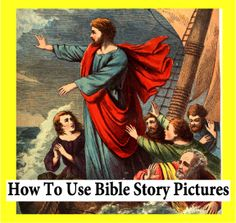 How to Use Bible Story Pictures: Art Appreciation Questions for Kids