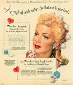 Pubblicità vintage di cosmetici - Vintage cosmetics advertising