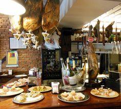 Pinxto Bar in San Sebastian, Spain Spain Travel, Tapas, Beautiful Places, Table Settings, Louis Xiv, Bar, Viajes, Spain Destinations, Place Settings