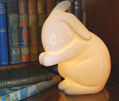 more images: Rabbit Lamp Night Light by White Rabbit England