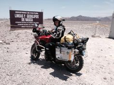 Alicia Sornosa on her Half World Tour as she crosses the South Americas.