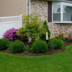 Roll out your front yard welcome mat with the help of easy-care landscaping. Perennials, annuals, flowering shrubs and color-rich trees create a lush landscape that sets the scene for a warm, inviting…MoreMore  #LandscapingFrontYard