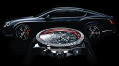 Breittling for Bentley limited edition watches celebrate the launch of Continental GT V8