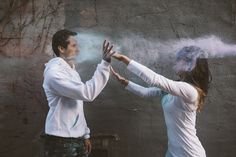 chalk fight!!