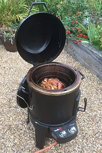 Which? tries out Char-Broil Big Easy gas smoker BBQ. Which? brings you its first impressions of the £300 Char-Broil Big Easy Smoker, Roaster and Grill gas barbecue. Smoker barbecues are very popular in the US, and smoking food is a growing trend with foodies in the UK. In response to growing demand two major barbecue brands, Char-Broil and Weber launched new smoker barbecues this summer.