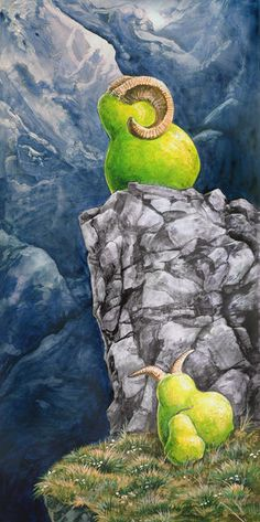 Bighorn Pears by Ursula Vernon