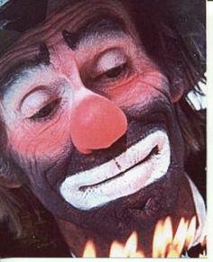 Emmett Kelly, Jr. | Emmett Kelly Jr Famous Clown Entertainer RARE Signed Autograph Photo