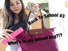 {Back To School #3} : What's in my School bag ? EDITION 2015