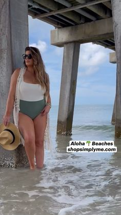 Honeymoon Style, Honeymoon Outfits, Aloha Beaches, Summer Fun List, Swimming Suits, Curvy Models, Curvy Fit, Plus Size Swimwear, Swimsuits