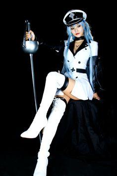アカメが斬る!(Akame ga kill!) - Hori(호리) Esdeath コスプレ写真 - WorldCosplay