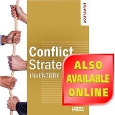 conflict management self assessment