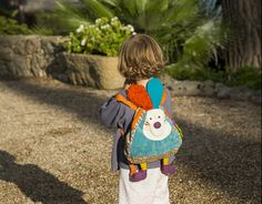 Jeff the rabbit backpack!