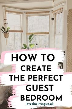 What should the perfect guest bedroom include? What's the ideal guest bedroom design? We have ideas, tips and inspiration for the interior design of your guest bedroom. Make a hotel bedroom experience for any visitor in your home. #lovechicliving #guestbedroom #interiordecor #homedecor #bedroomdesign