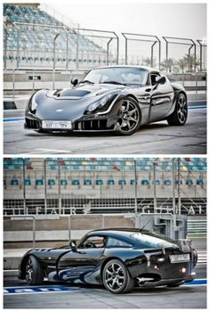 Stunning TVR Sagaris! Too bad you can never buy it in the US. Check out the alternatives here.