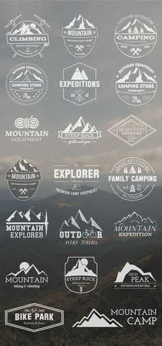 20 Adventure Badges